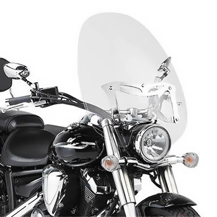 Крепление ветровых стёкол A46/A47 на Yamaha XVS, арт: 11428 - Крепления ветровых стекол