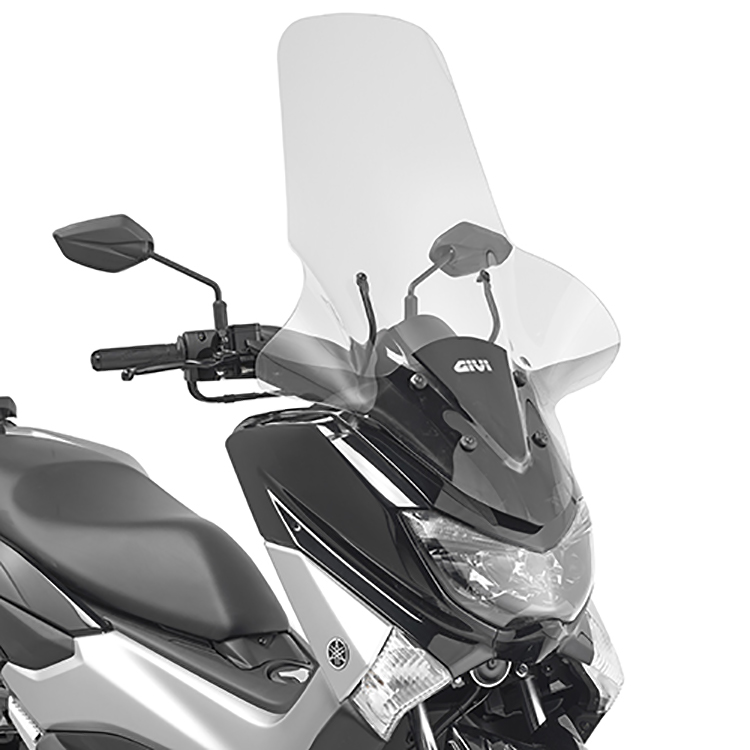 Крепление ветрового стекла 2123DT на Yamaha N-Max 125 (15 &gt  17), арт: 11432 - Крепления ветровых стекол