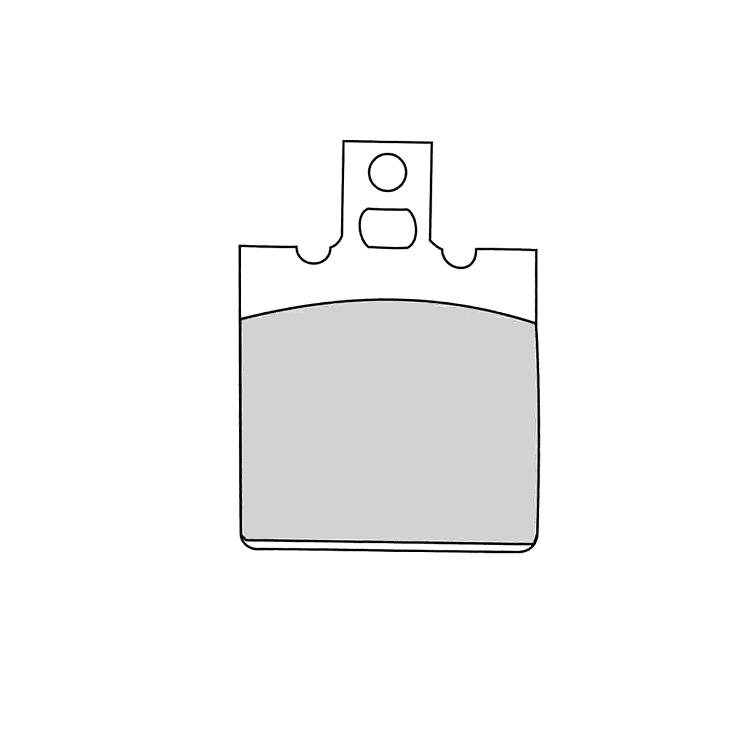 Тормозные колодки Ferodo FRP416 Platinum, арт: 12469 - Тормозные колодки