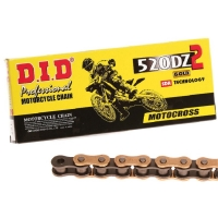 Цепь DID 520-108 DZ2 offroad/street gold/black RJ