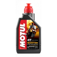 Масло моторное Motul Scooter Power 4T MA 5W40