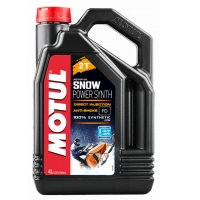 Масло моторное Motul Snowpower Synth 2T 4л.