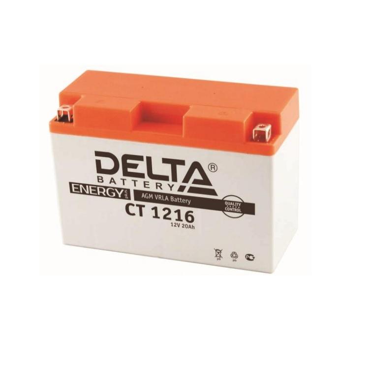 Мото АКБ «Delta» СТ 12 9 AGM (прямая) в Белгороде от