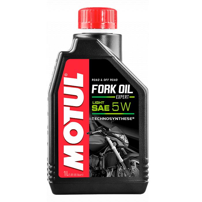 Масло вилочное Motul Fork Oil Expert 5W 1л., арт: 3587 - Масла для вилки\амортизаторов