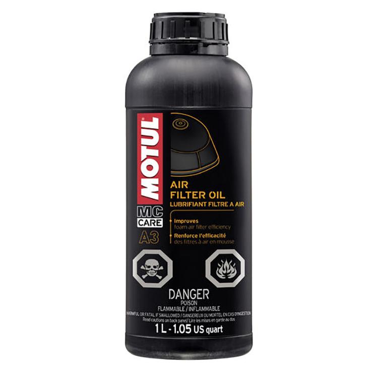 Масло для воздушного фильтра Motul A3 Air Filter Oil 1л., арт: 3588 - Смазка цепи, трансмисионное масло и сервисные продукты