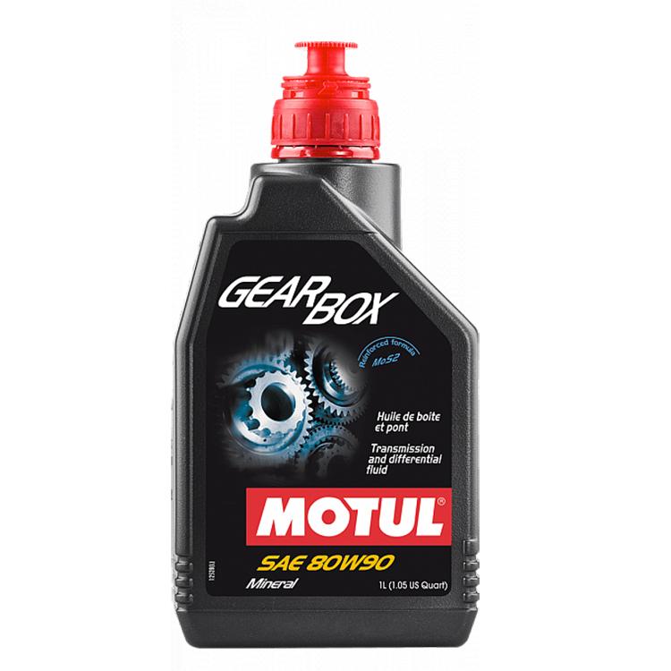 Масло трансмиссионное Motul GearBox 80W90 1л., арт: 3639 - Смазка цепи, трансмисионное масло и сервисные продукты
