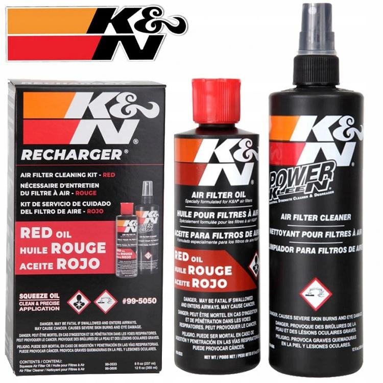 Набор для обслуживания воздушных фильтров K N, арт: 3701 - Смазка цепи, трансмисионное масло и сервисные продукты