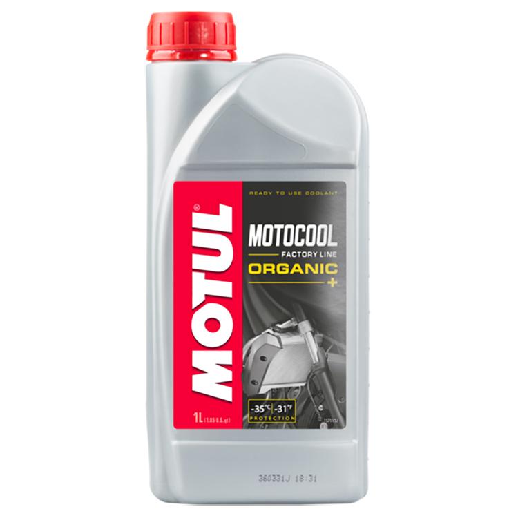 Охлаждающая жидкость (Антифриз) Motul Motocool Factory Line 1л., арт: 3753 - Тормозная жидкость антифриз