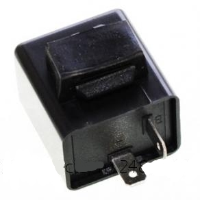реле поворотов 2х контактное LED DC12V 0.1W-150W, арт: 3938 - Оптика, фары, лампы