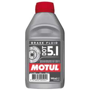 Тормозная жидкость Motul DOT 5.1 Brake Fluid 0.5л., арт: 4027 - Тормозная жидкость антифриз