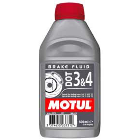 Тормозная жидкость Motul DOT3 4 Brake Fluid FL 0.5л., арт: 4028 - Тормозная жидкость антифриз