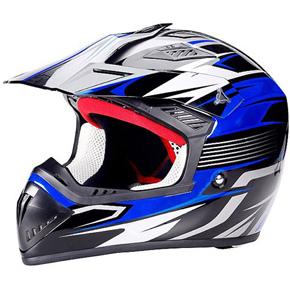Шлем Кроссовый Biltema синий, арт: 4384 - Шлем кроссовый