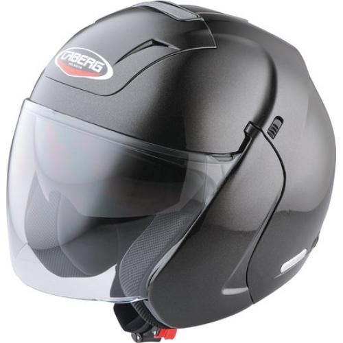 Шлем открытый Caberg Downtown черный глянцевый, арт: 4462 - Шлем открытый