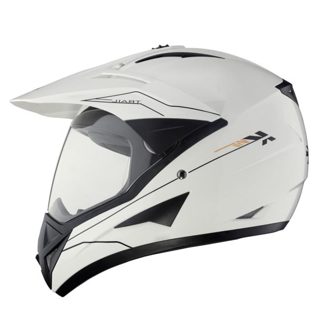 Шлем Туристический (эндуро\кросс) Kappa KV-10 белый, арт: 4671 - Шлем кроссовый