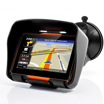 Навигатор GPS 4,3'' для мотоцикла\квадроцикла, арт: 4797 - Навигаторы для мото и ATV