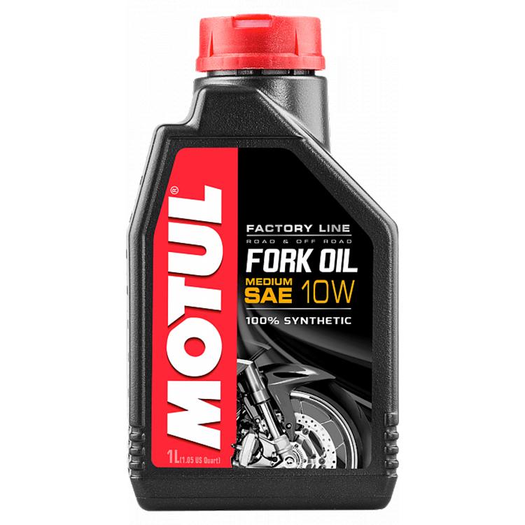 Масло вилочное синтетическое Motul Fork Oil Factory Line Medium 10W 1л., арт: 4811 - Масла для вилки\амортизаторов