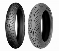 Michelin Pilot Road 4 180/55 R17 M/C TL 73W Rear