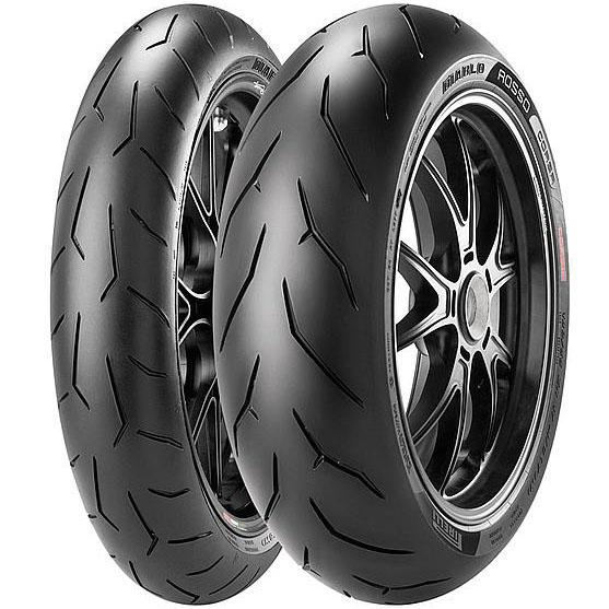Pirelli Diablo rosso corsa 160/60 ZR17 69W M/C rear, арт: 5299 - Шины Pirelli