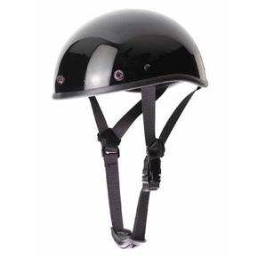 Шлем-каска  Braincap  черный глянцевый, арт: 5327 - Каски