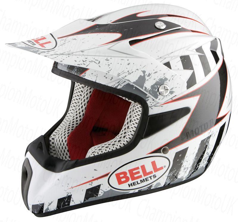 Мото кроссовый шлем Bell р XS 54, арт: 5414 - Шлем кроссовый