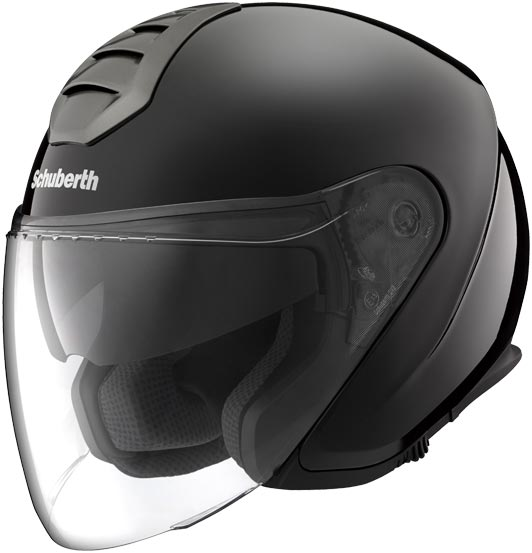Шлем открытый Schuberth M1 London, черный матовый, арт: 5465 - Шлем открытый