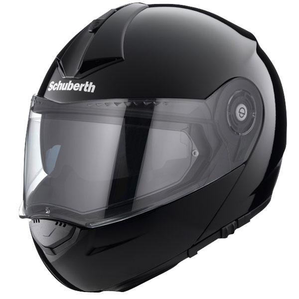 Шлем Schuberth C3 Pro, черный глянец, арт: 5470 - Шлем модуляр