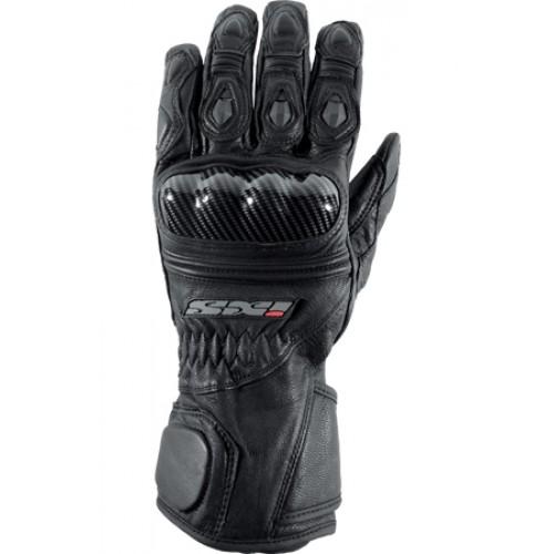 Перчатки кожа IXS Novara 2 черные, арт: 5496 - Перчатки