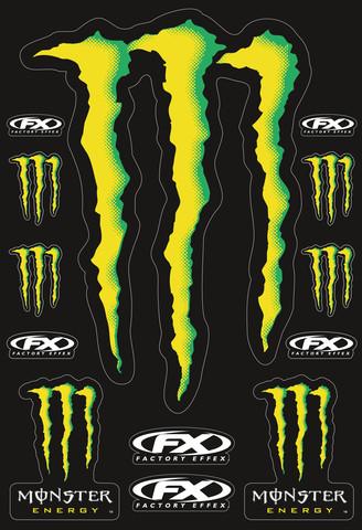 Наклейки ''Monster'' большие, арт: 5668 - Наклейки защитные
