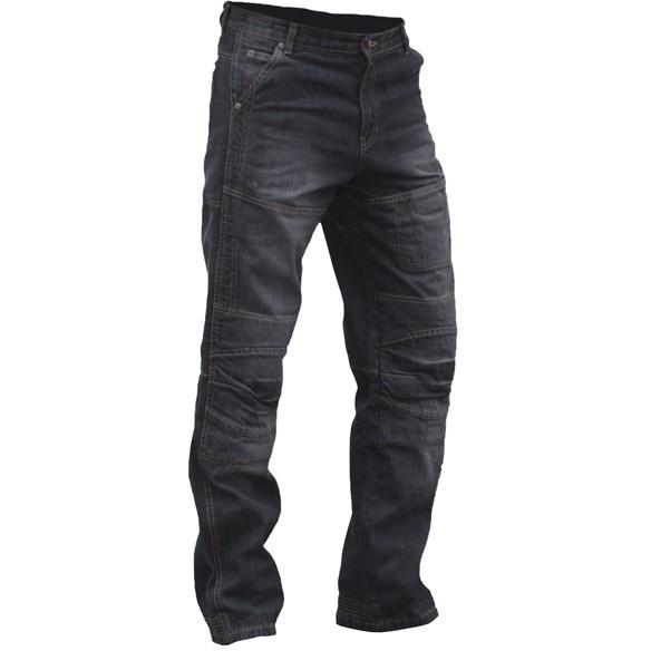 Мотоджинсы кевларовые черные Bolt Pisa Musta, арт: 5685 - Штаны и джинсы