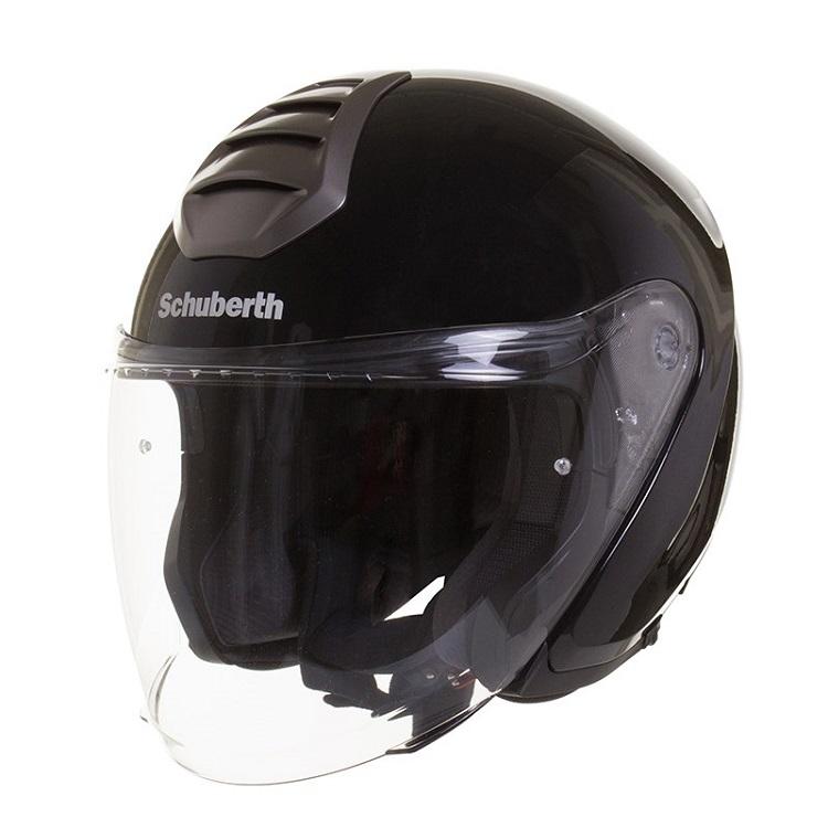 Шлем открытый Schuberth M1 Berlin, черный глянцевый, арт: 5851 - Шлем открытый