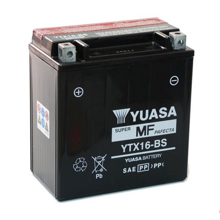 Аккумулятор Yuasa YTX16-BS (cp), арт: 7080 - Аккумуляторы Yuasa