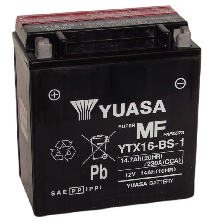Аккумулятор Yuasa YTX16-BS-1 (cp), арт: 7081 - Аккумуляторы Yuasa