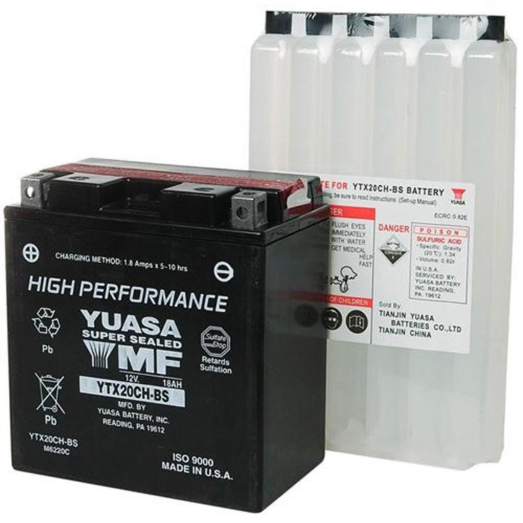 Аккумулятор Yuasa YTX20CH-BS (cp), арт: 7083 - Аккумуляторы Yuasa