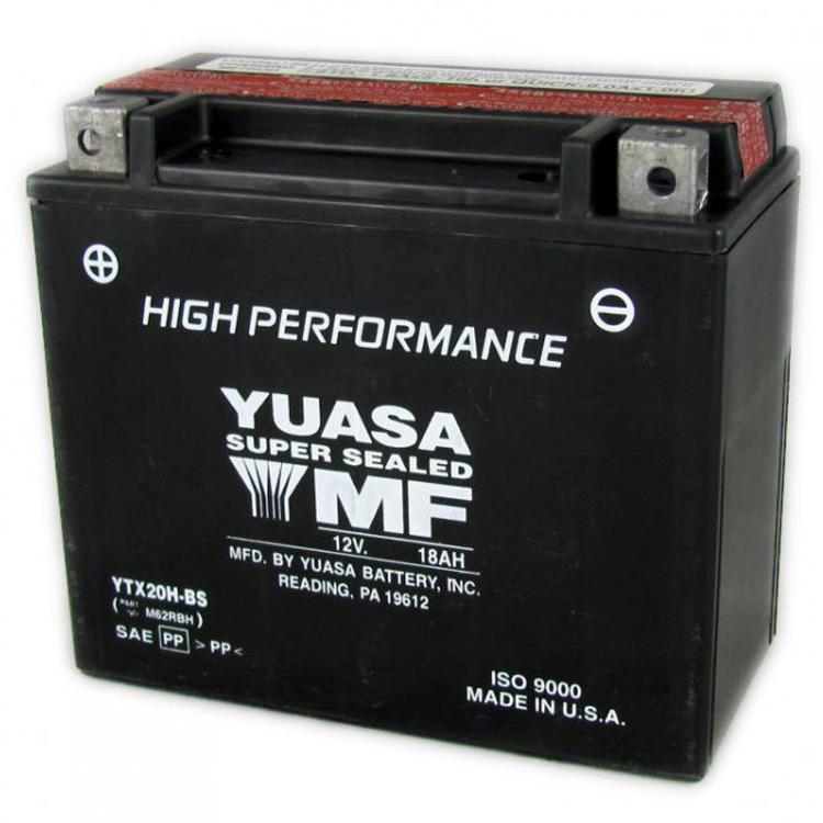 Аккумулятор Yuasa YTX20H-BS (cp), арт: 7084 - Аккумуляторы Yuasa
