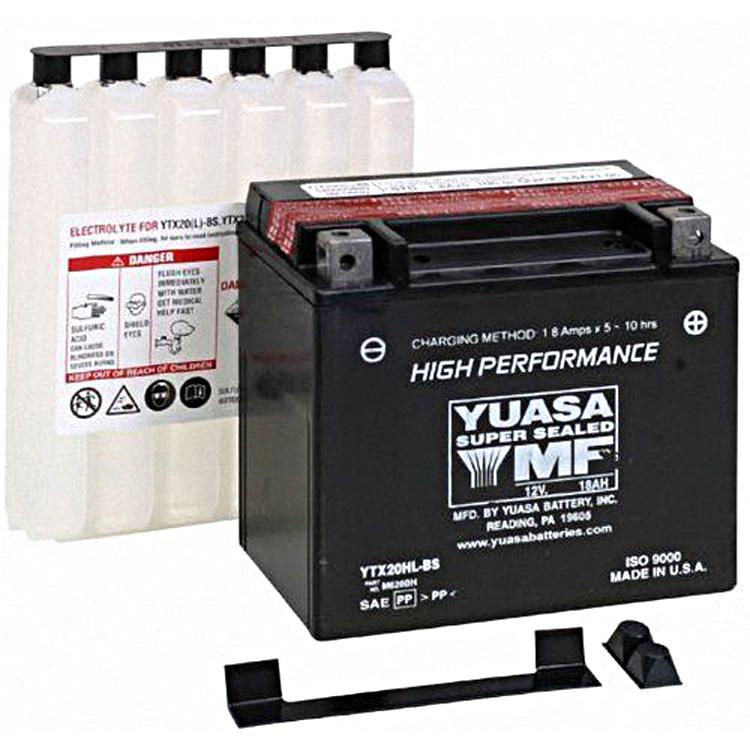 Аккумулятор Yuasa YTX20HL-BS (cp), арт: 7085 - Аккумуляторы Yuasa