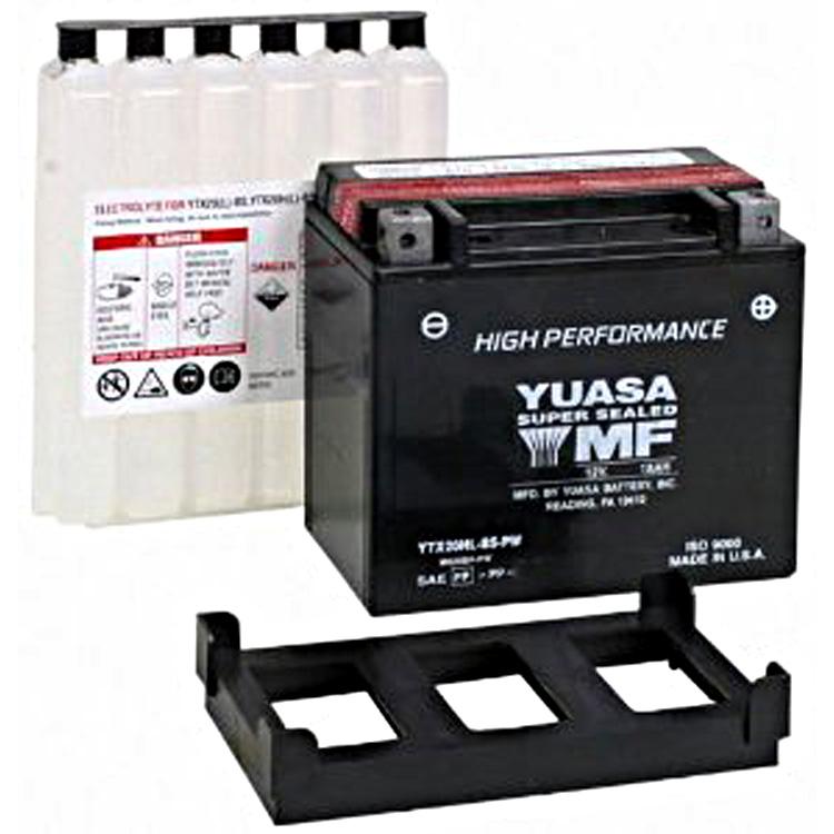 Аккумулятор Yuasa YTX20HL-BS-PW (cp), арт: 7086 - Аккумуляторы Yuasa