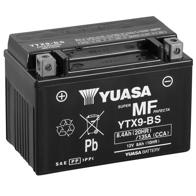 Аккумулятор Yuasa YTX9-BS (cp), арт: 7092 - Аккумуляторы Yuasa