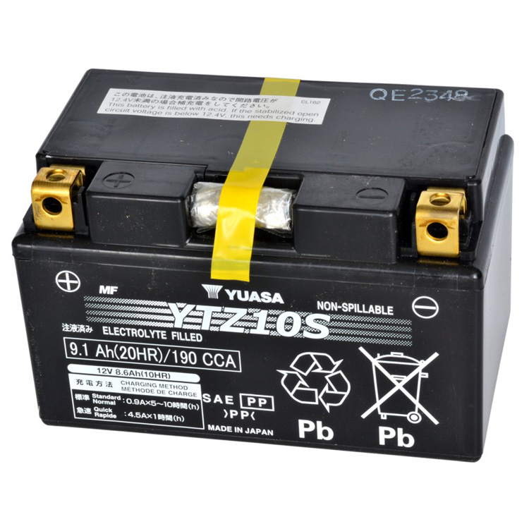 Аккумулятор Yuasa YTZ10S (wc), арт: 7093 - Аккумуляторы Yuasa