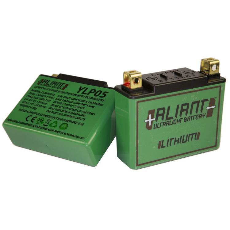 Аккумулятор литиевый ультралегкий Aliant YLP05, арт: 7103 - Аккумуляторы литиевые