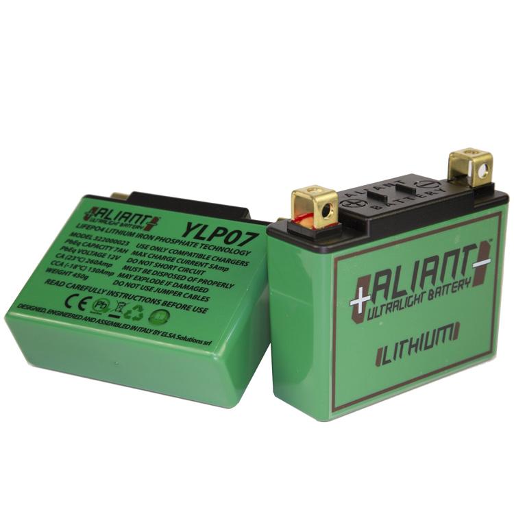 Аккумулятор литиевый ультралегкий Aliant YLP07, арт: 7104 - Аккумуляторы литиевые