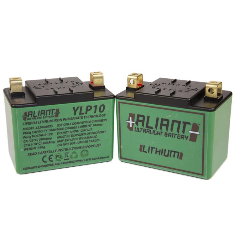 Аккумулятор литиевый ультралегкий Aliant YLP10, арт: 7105 - Аккумуляторы литиевые