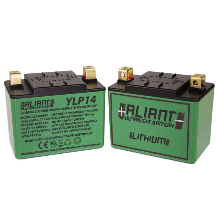 Аккумулятор литиевый ультралегкий Aliant YLP14, арт: 7106 - Аккумуляторы литиевые