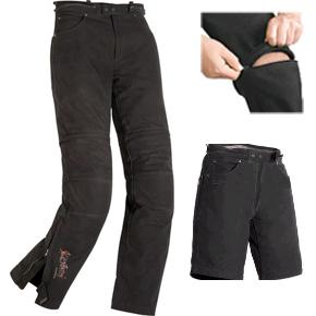 Мотоштаны-шорты Highway 1 Canvas р.48, арт: 8907 - Штаны и джинсы