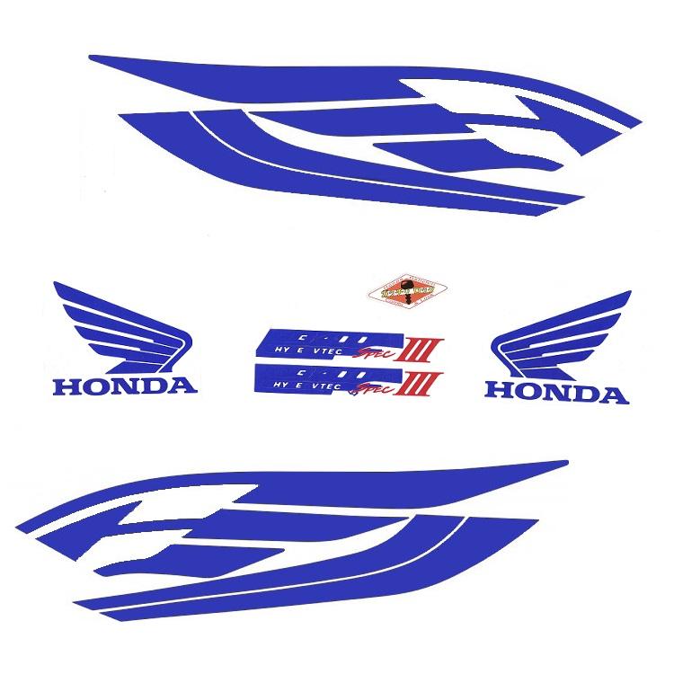 Наклейка на CB400 Honda, арт: 9025 - Наклейки защитные