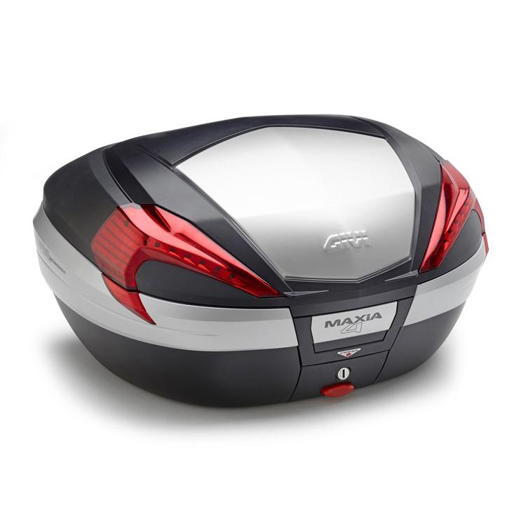 Кофр центральный (верхний) Givi V56 Maxia 4 Monokey® 56л черный, арт: 9126 - Кофры пластиковые/алюминиевые