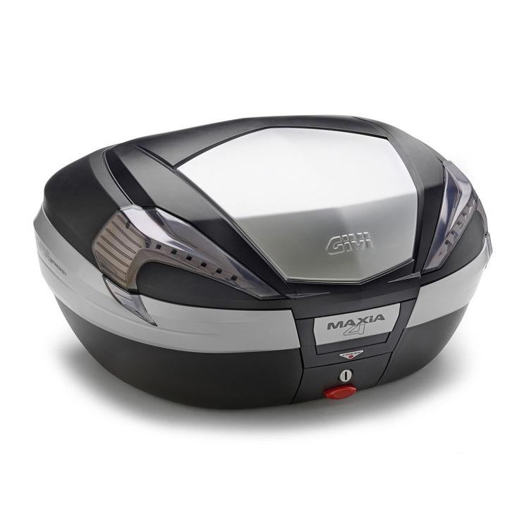 Кофр центральный(верхний) Givi V56 Maxia 4 Tech Monokey® 56л черный, арт: 9127 - Кофры пластиковые/алюминиевые