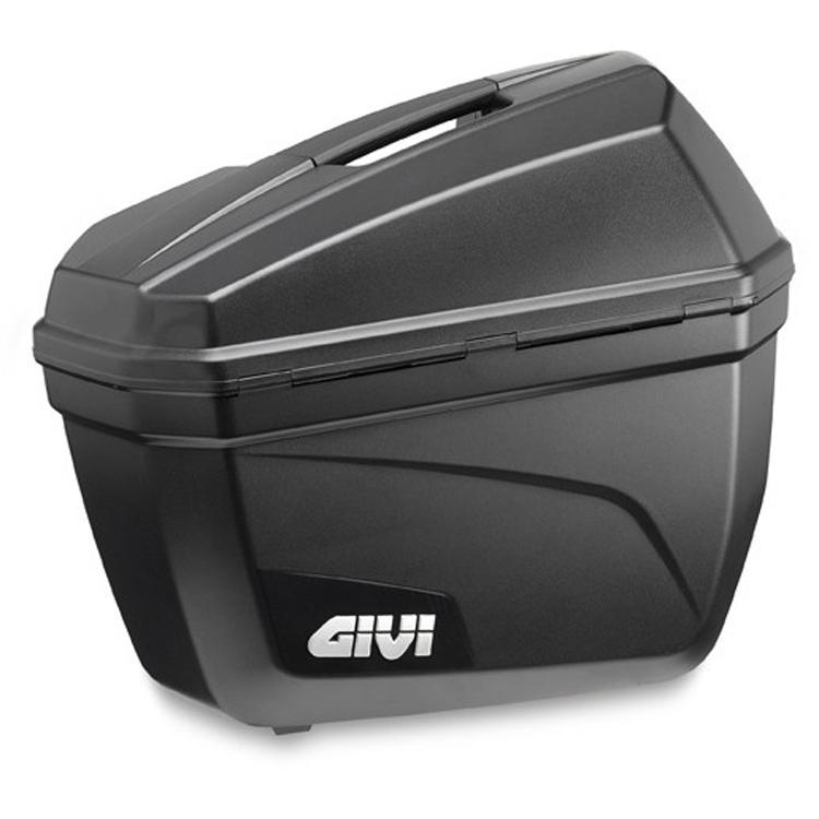Кофры боковые Givi E22 Cruiser 22л (пара), арт: 9128 - Кофры пластиковые/алюминиевые