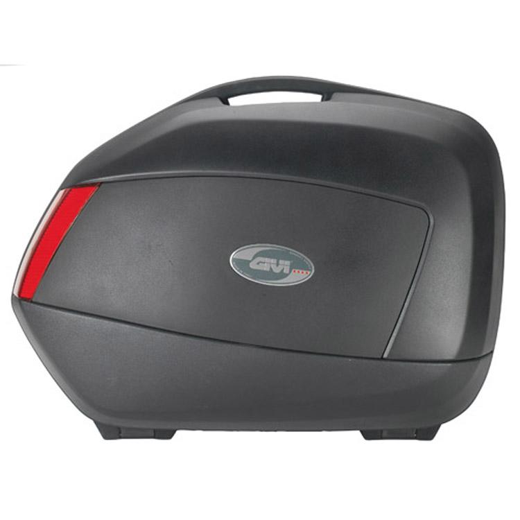 Кофры боковые Givi V35N черный с красными отражателями (пара), арт: 9132 - Кофры пластиковые/алюминиевые
