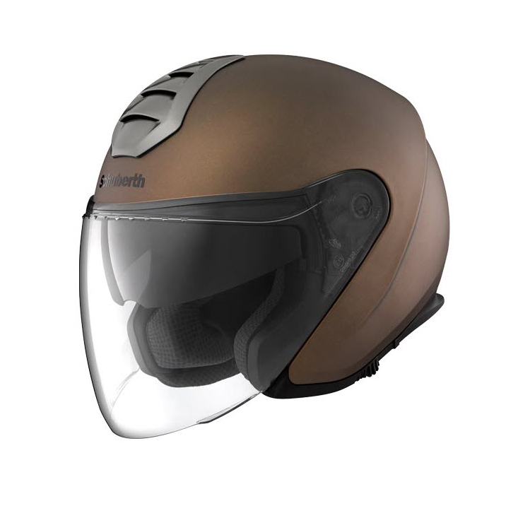 Шлем открытый Schuberth M1 Amsterdam, антрацит, арт: 9476 - Шлем открытый