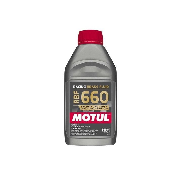 Тормозная жидкость Motul RBF 660 FL Brake Fluid FL 0.5л., арт: 9741 - Тормозная жидкость антифриз